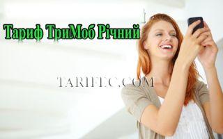 Тримоб «Годовой»: обзор и условия тарифа на год
