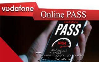 Vodafone Online PASS — водафон меняет представления о мобильном Интернете