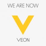 логотип веон