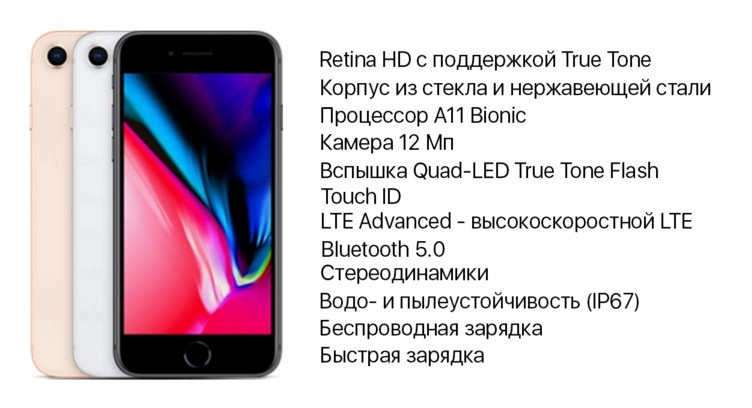 айфон 8 характеристики