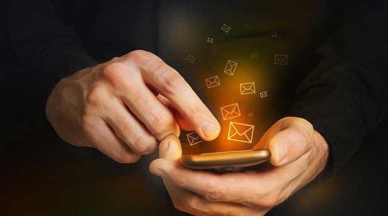 отправка смс смартфон
