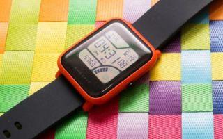 Xiaomi amazfit: обзор недорогих умных часов