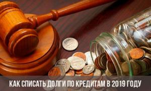 Будет ли списание долгов по кредитам – новые поправки к закону