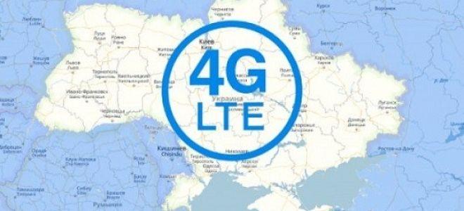 Какова зона покрытия 4G в Украине