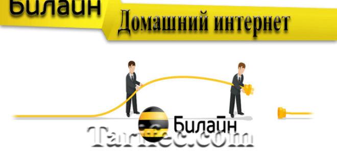 Обзор домашнего интернета Билайн