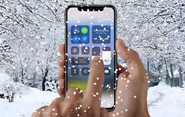 Почему Айфоны гаснут на холоде?