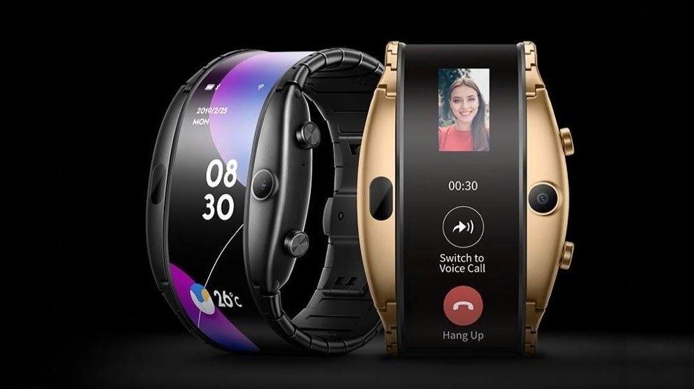 Часы смартфон ZTE NUBIA ALPHA с OLED-дисплеем в Малой